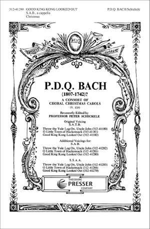 Bach: Throw the Yule Log on, Uncle John (SAB Chorus)