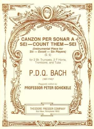 Bach: Canzon per sonar a Sei - count them - Sei