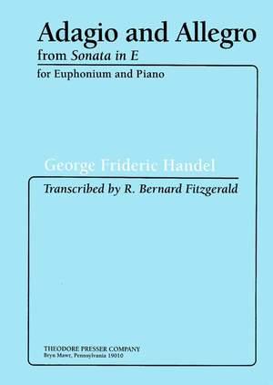Handel: Adagio & Allegro from Sonata in E