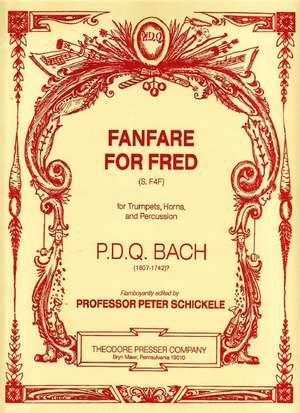 Bach: Fanfare for Fred