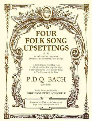 Bach: 4 Folk Song Upsettings (mezzo)