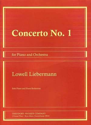 Liebermann: Concerto No.1, Op.12