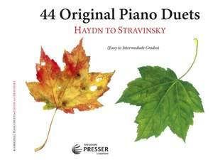 Carl Reinecke_Max Reger: 44 Original Piano Duets (Haydn To Stravinsky)