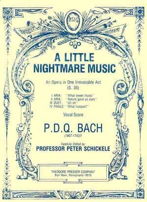 Bach: A Little Nightmare Music