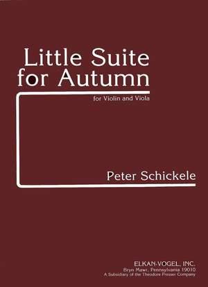 Schickele: Little Suite for Autumn