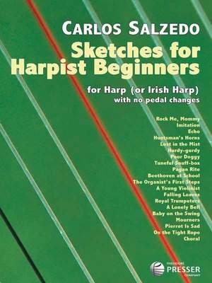 Salzédo: Sketches for Harpist Beginners
