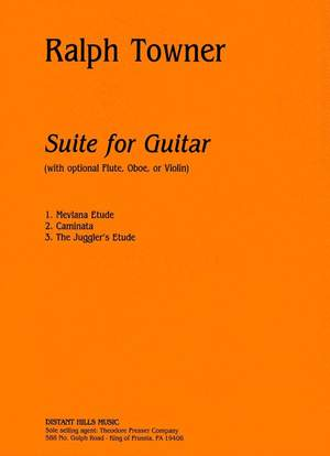 Towner: Suite for Guitar