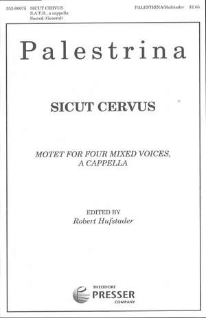Palestrina: Sicut cervus