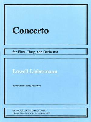 Liebermann: Concerto Op.48 for Flute, Harp & Orchestra