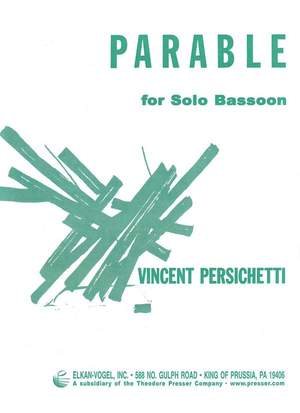 Persichetti: Parable IV, Op.110