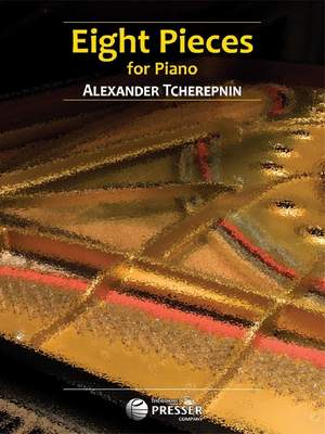 Tchérepnin: 8 Pieces For Piano Product Image