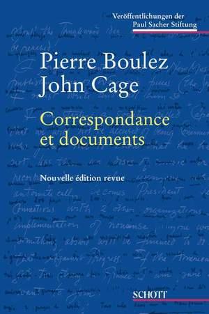 Boulez/Cage: Correspondance et documents