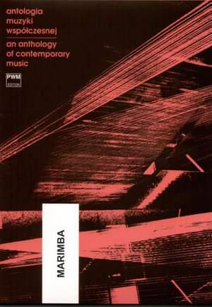 Anthology Of Contemporary Music (marimba)