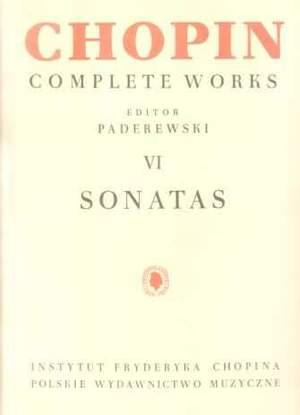 Chopin, F: Sonatas