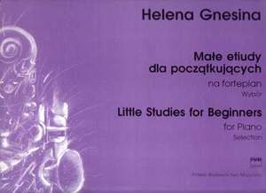 Gnesina, H: Little Studies For Beginners Product Image