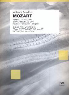 Mozart, W A: Thema Mit Variation Aus Kv334