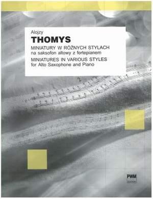 Thomys, A: Miniaturen in verschiedenen Stilen