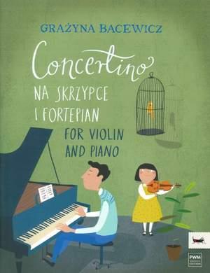 Bacewicz, G: Concertino Product Image
