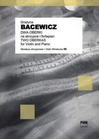 Bacewicz, G: 2 Oberek