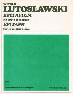 Lutoslawski, W: Epitaph