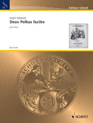 Strauß, J: Deux Polkas faciles Product Image