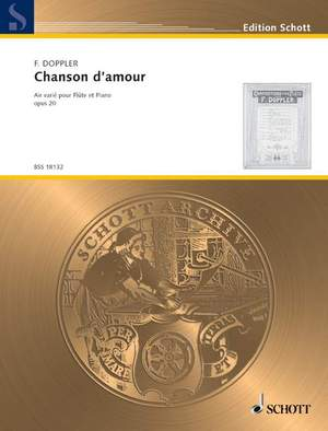 Doppler, A F: Chanson d'amour op. 20 Product Image