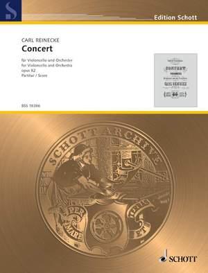 Reinecke, C: Concert op. 82