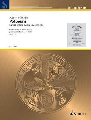 Kueffner, J: Potpourri op. 190