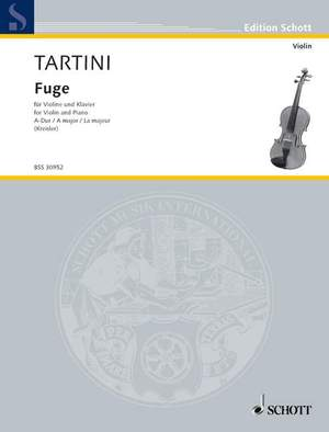 Tartini, G: Fugue in A Major Product Image