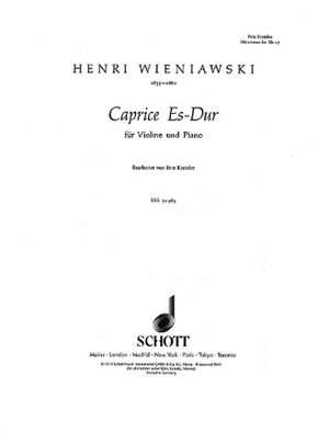 Wieniawski, H: Caprice E flat Major