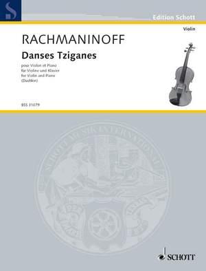 Rachmaninoff, S: Danses Tziganes Product Image