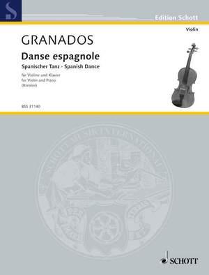 Granados i Campiña, E: Danse espagnole