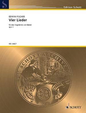 Fischer, E: 4 Lieder op. 1