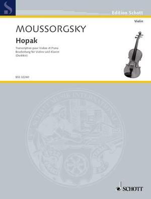 Moussorgsky, M: Hopak