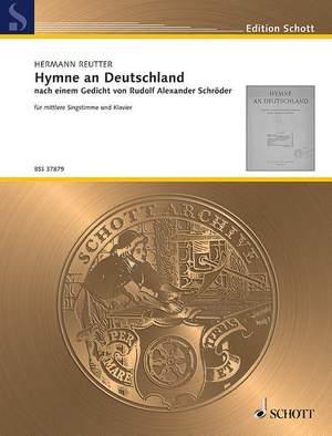 Reutter, H: Hymne an Deutschland