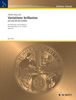 Mueller, I: Variations brillantes op. 69