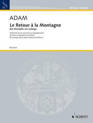 Adam, A: Die Rückkehr in's Gebirge
