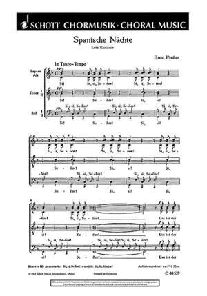 Fischer, E: Tanzlieder