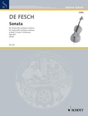 Fesch, W d: Sonata G minor op. 8/5