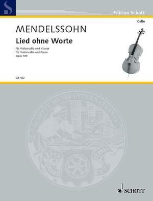 Mendelssohn: Song without Words D major op. 109