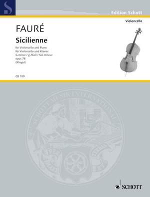 Fauré, G: Sicilienne op. 78