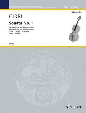 Cirri, G B: Sonata No. 1 C Major