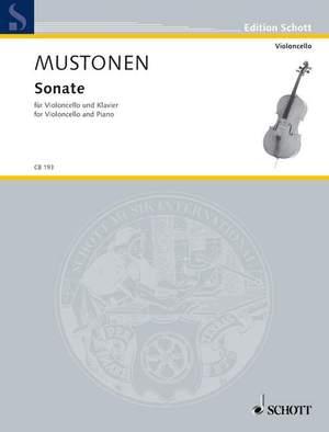 Mustonen, O: Sonata