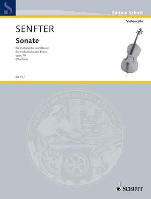 Senfter, J: Sonata op. 79