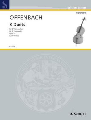 Offenbach, J: Three Duets op. 51