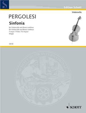 Pergolesi, G B: Sinfonia F Major