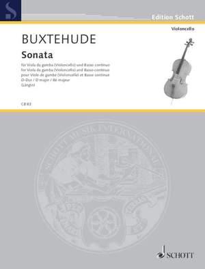 Buxtehude, D: Sonata D Major