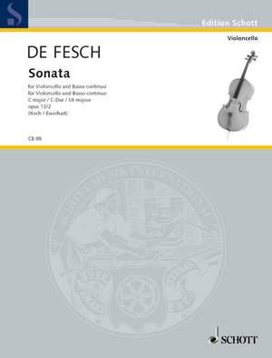 Fesch, W d: Sonata op. 13