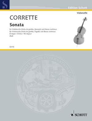 Corrette, M: Sonata D Major op. 20/6