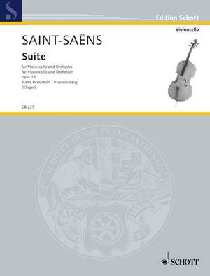 Saint-Saëns, C: Suite D minor op. 16bis